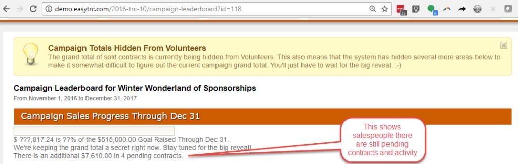 EasyTRC Leaderboard hidden summary total